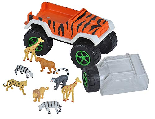 Wild Republic Truck & Mini Zoo Collection, Zoo Animals. Kids Gifts, Animal Figures, 5