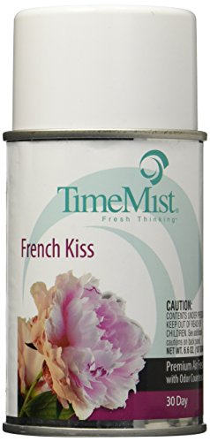 TimeMist Metered Fragrance Dispenser Refill, French Kiss 6.6 Ounce Aerosol Can (334709TMCA)