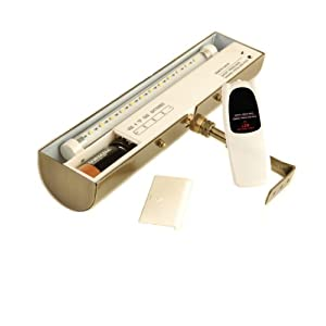 Concept 101L Cordless Remote Control LED Picture Light- 11 1/2 inch Polished Brass