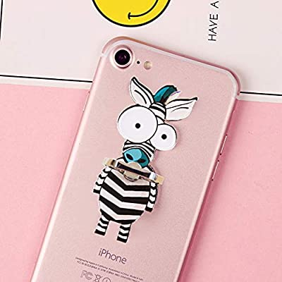 9 Pack 9pcs Phone Ring Big Eyes Long Neck Animals Monkey Universal 360/° Rotating Buckle Tablet Finger Grip Stand Holder Car Hook Compatible with All iPhone Plus Samsung Android iPad TM ZOEAST