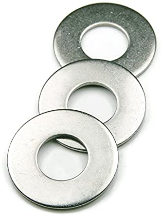 Qty-100 #8 x 3//4 .174 ID x 3//4 OD x .040 Thick Fender Washers 18-8 Stainless Steel