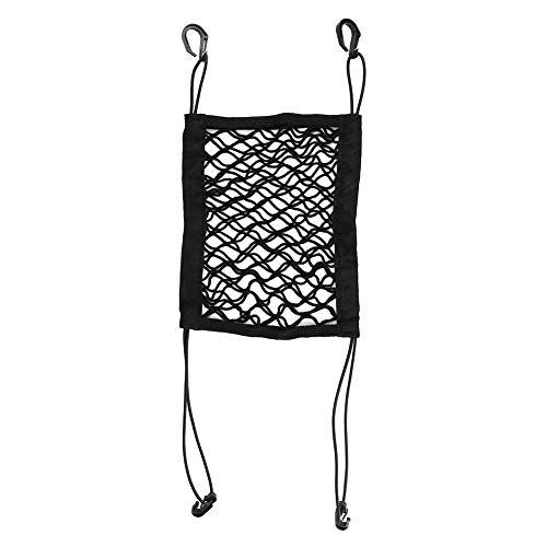 Car Dog Barrier, Auto Seat Net Organizer Universal Stretch Car Seat Storage Mesh Mesh Cargo Net Hook Pouch Holder for…
