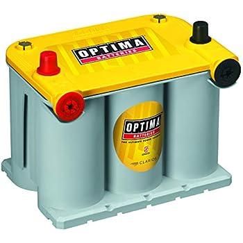 Amazon com: Optima Batteries 8040-218 D35 YellowTop Dual