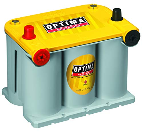 Optima Batteries 8042-218 D75/25 YellowTop Dual Purpose Battery (1996 Gmc Savana Conversion Van For Sale)
