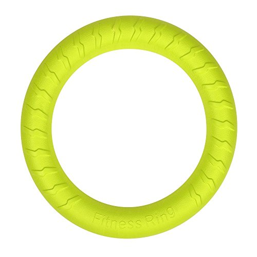 Large Dog Toys Ring Water Floating, Outdoor Fitness Flying Discs, Tug War Interactive Training Ring Medium Big - Ring Flying Amphibious