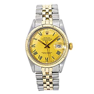 Best Epic Trends 41c9Fy-8A3L._SS300_ Rolex Datejust Swiss-Automatic Male Watch 16013 (Certified Pre-Owned)