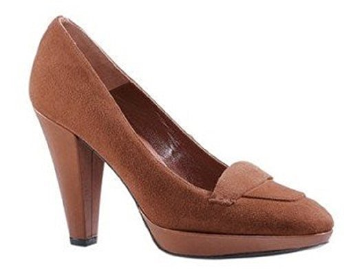 DAVID BRAUN Women's Pumps Court Shoes Cognac KHIK3xg9Pa