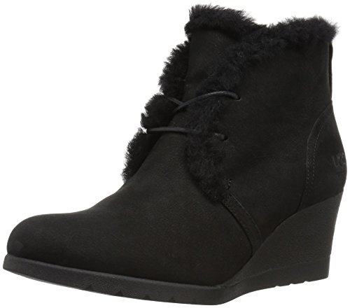 UGG Women's Jeovana Winter Boot, Black, 9 M US