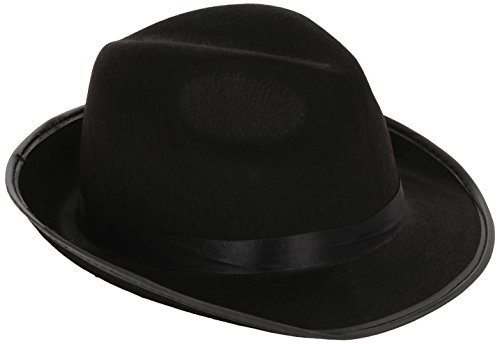 [Smiffys Blues Brothers Fedora Hat Adult by Smiffy's] (Blues Brothers Hat)