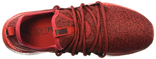 Puma Neko Risk Para Tenis Hombre High Knit Nrgy puma Black Red rrxTw1qAa5