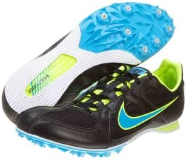 Nike Zoom Rival MD6 Track Shoe 10.5 D M US, Black Blue