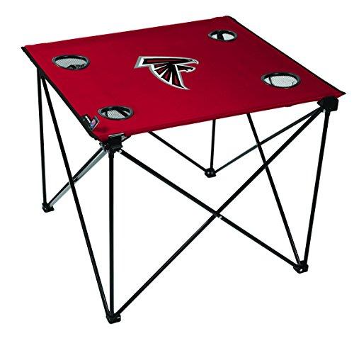 NFL Atlanta Falcons Unisex NFL OS Atlfal TLG8 Delux Tablenfl OS Atlfal TLG8 Delux Table, Red, No Size (Atlanta Falcons Tailgate Table)