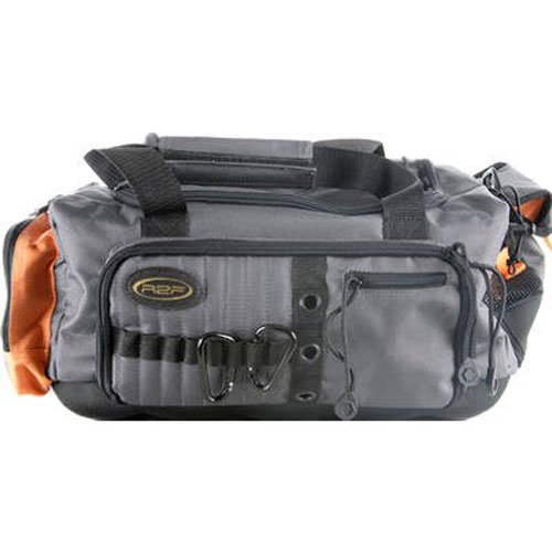 Ready to fish soft sided tackle bag outdoor aces for Fishing tackle bag