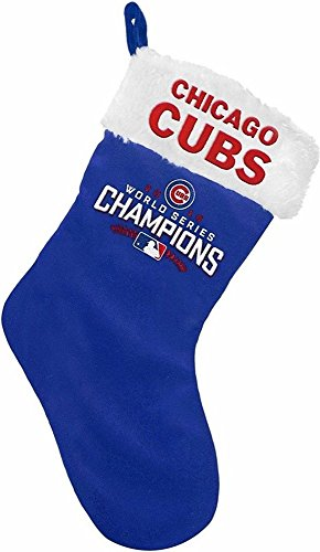 Chicago Cubs 2016 World Series Champions Stocking