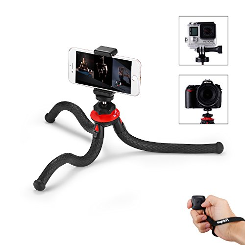 Cheap Professional Video Accessories iPhone Tripod, Phone Tripod with Bluetooth Remote Control,Phone Mount Adapter,Gopro Adapter for..