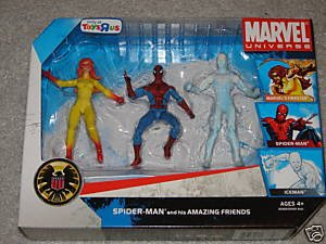 "Marvel Universe 3 3/4"" Exclusive Action Figure 3-Pack Spider"