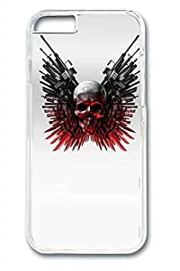 Cool Skull 3 Slim Soft Cover Case For Samsung Note 4 Cover PC Transparent Cases