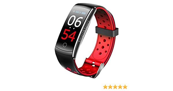 2018 Reloj inteligente Q8S deportivo, envio rapido, pulsera inteligente, smartwatch 2018, podómetro, frecuencia cardíaca, tension arterial hombre ...