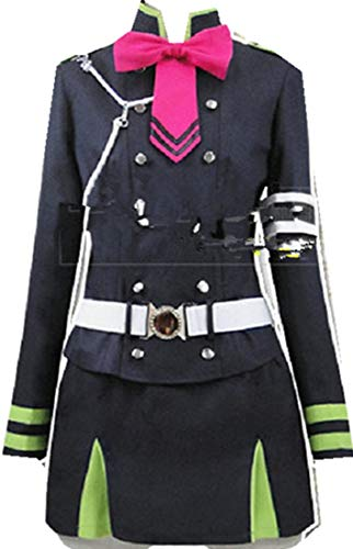 Mister Bear Seraph of The End Shinoa Hiragi Military Uniform Cosplay Costume