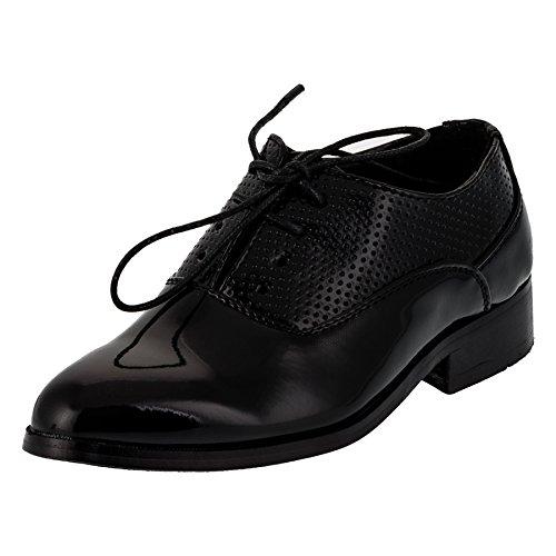 Festliche Anzug Schuhe Matt oder Lackschuh für Jungen #200sw Glanz