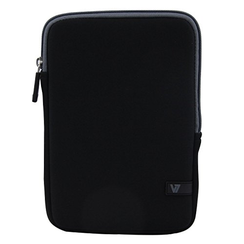 V7 Ultra Protective Sleeve for iPad mini and 8-Inch Tablets (TDM23BLK-GY-2N) V7 Ultra Protective Sleeve