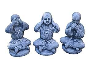 3meditando buddhistische Lección de piedra, resistente a las heladas.