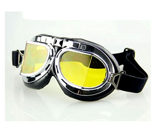 FUT Cosplay Costume Eyewear Goggles Aviator Pilot Style Cruiser Scooter - Fancy Goggles