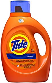 Tide Detergente Liquido para Ropa, Original, 64 Lavadas, 2.7 L