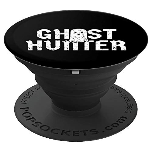 Ghost Hunter Gift Paranormal Investigator Halloween - PopSockets Grip and Stand for Phones and -