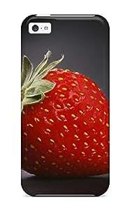 Hxy Iphone 5c Hybrid Tpu Case Cover Silicon Bumper Strawberry