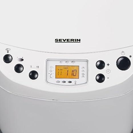 Severin BM 3991 - Panificadora (3.3 l. de capacidad para 500-1000 ...