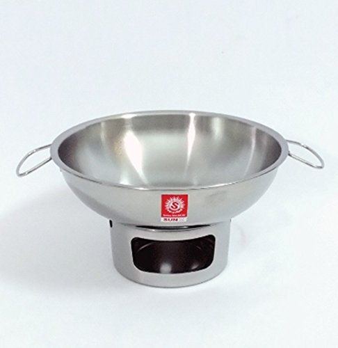 20 cm. HOT POT STAINLESS STEEL WARE SERVING BOWL OF TOMYUM Thai Soup, OTHER SOUP by areerataeyshop