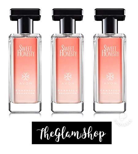 (Avon LOT OF 3 Sweet Honesty Classics Collection Cologne Spray 1.7 fl oz Each Brand New Fresh Sold by The Glam Shop)