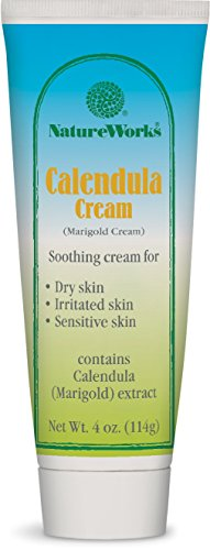 (Nature Works Calendula Cream, 4 Ounce)