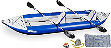Sea Eagle Explorer Inflatable Kayak with Deluxe Accessory Package, 14