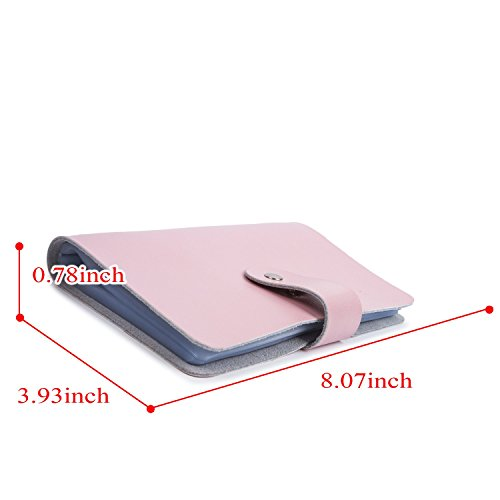 Lovely genuine leather credit card holder business id card case lovely genuine leather credit card holder business id card case wallet style 96 box name card reheart Image collections