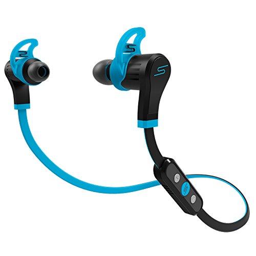 SMS Audio SMS-EBBT-SPRT-BLU SYNC by 50 In-Ear Bluetooth Sport, Blue