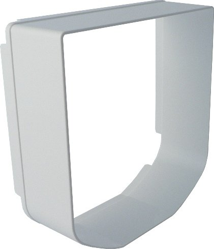 (SureFlap Tunnel Extender - White )