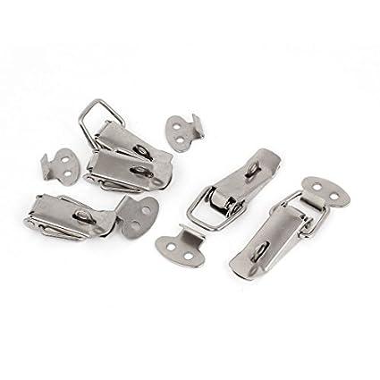 Maleta caja de la caja del pecho de acero inoxidable Candado Toggle Latch 5 piezas