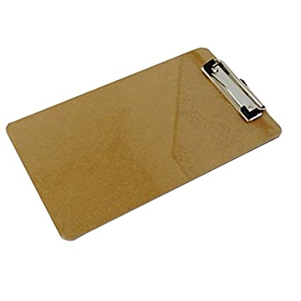 amazon com wooden clipboard 11 x 6 5 by premier office