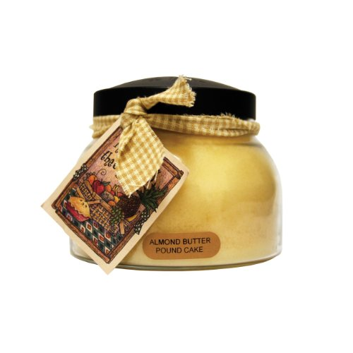 A Cheerful Giver Almond Butter Pound Cake Mama Jar Candle, 22-Ounce by A Cheerful Giver
