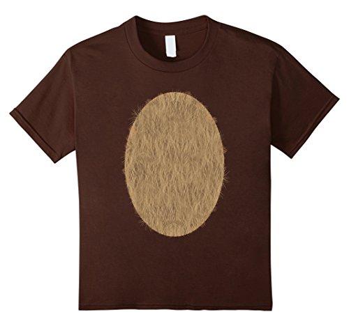 Kids Deer Belly Tshirt Halloween Costume Rudolph DIY Shirt 6 Brown (Halloween Costume Ideas For Teachers Kindergarten)