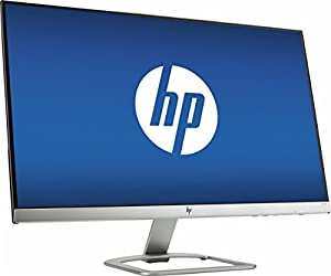 2017 est HP 27-Inch IPS LED Full HD 1920 x 1080 Monitor with HDMI and VGA Inputs, Natural Silver by hp