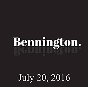 Bennington, Julie Klausner, July 20, 2016 Radio/TV Program