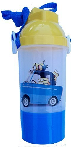 Despicable Me2 Rock & Sip Water Bottle With Snack Compartment ()