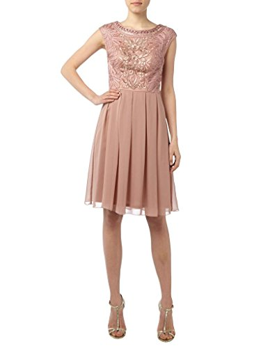 Charm Bridal Short Summer Chiffon Women Junior Cocktail Homecoming Party Dresses -14-Pink by Charm Bridal