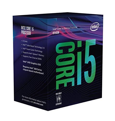 Intel Core i5-8500 Desktop Processor 6 Core up to 4.1GHz Turbo LGA1151 300 Series 65W