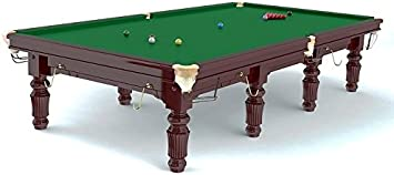 Mesa de Snooker Robertson Tournament 8 pies, de madera de arce ...