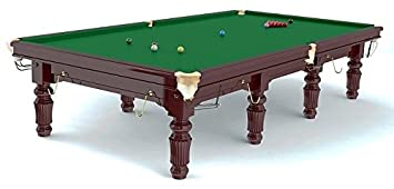Mesa de Snooker Robertson Tournament  pies de madera de arce maciza color