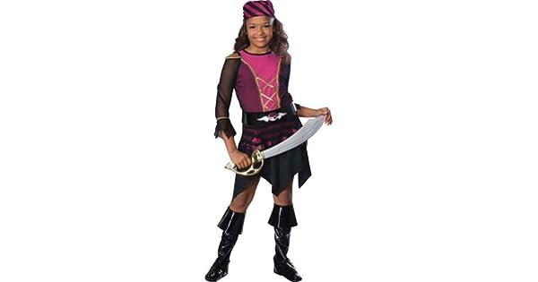 Amazon.com: Bratz Deluxe de chica pirata disfraz de ...